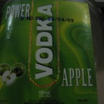 Power Vodka apple