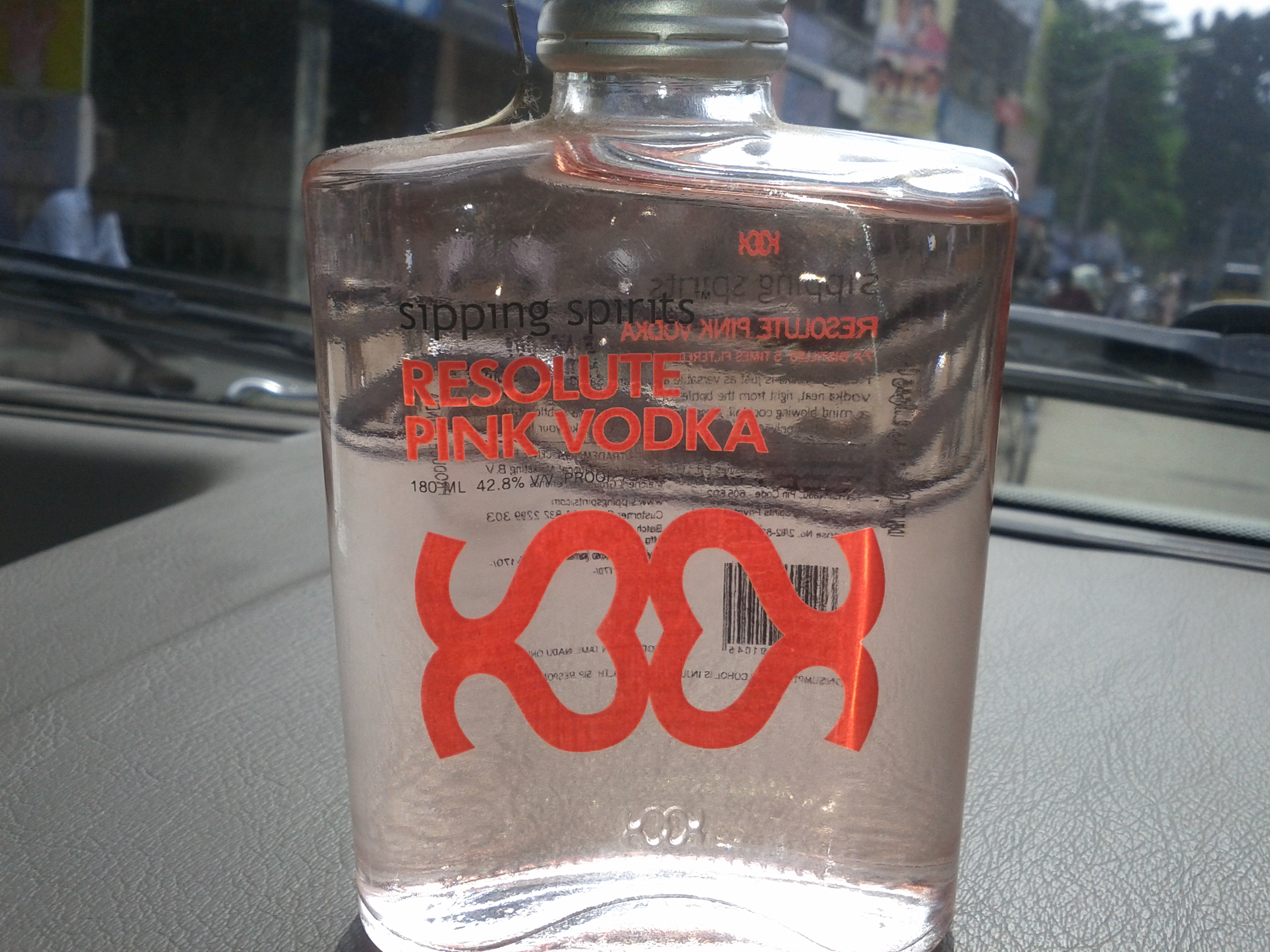 Kosukadi resolute pink vodka review for Pink cocktails with vodka
